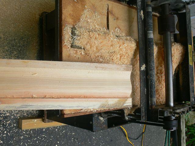 Wood Gutter Repair Job Shots