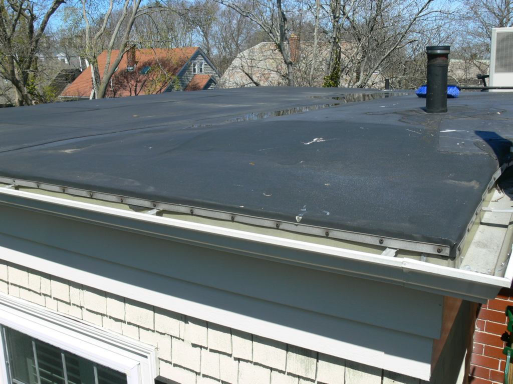 Rubber Roof Ponding Problems