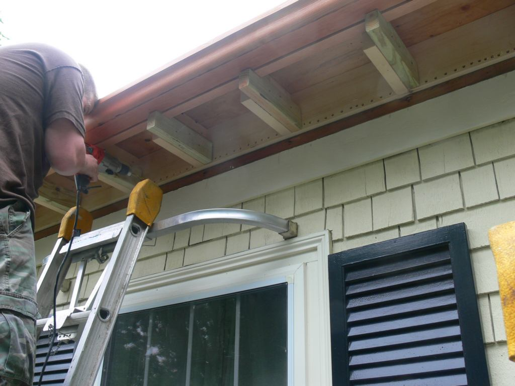 New Cornice To Take A 1960 S Addition Back To 1900 Part Ii