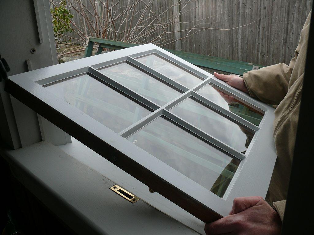 Window Sash Restoration On A Circa 1998 Custom Built